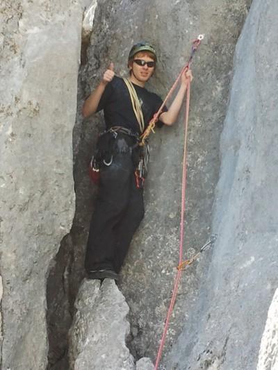 Von der Kletterhalle an den Fels - die richtige Kletterausrüstung ist entscheidend