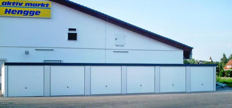 Exklusiv-Garagen sind langfristig sicher