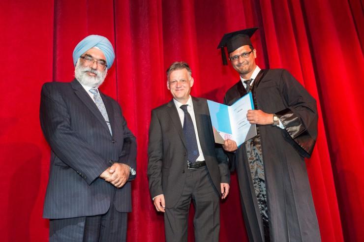 DAAD-Preis 2016: Bester ausländischer Student der HHL kommt aus Indien