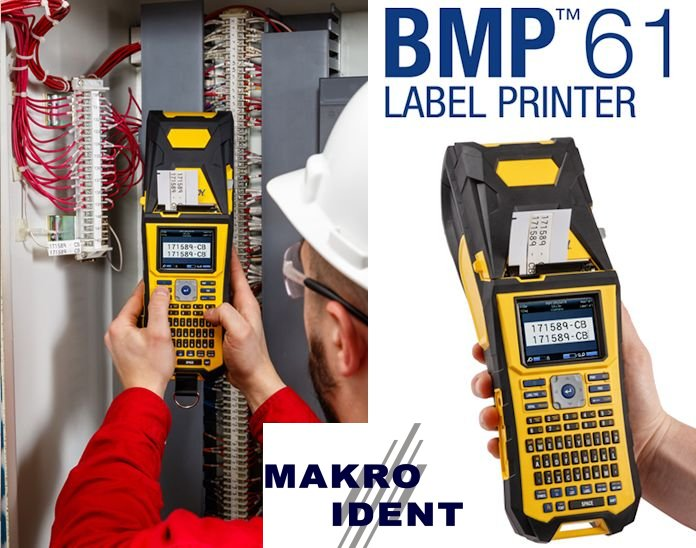 Brady Etikettendrucker BMP61 - Nachfolgemodell des TLS2200