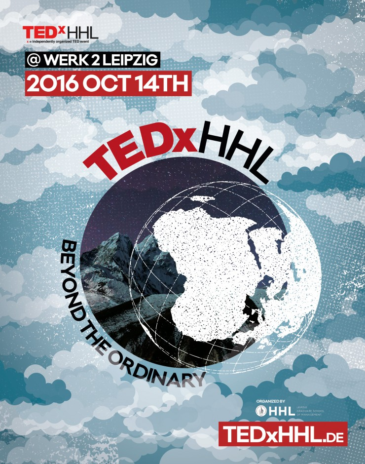 TEDxHHL with 3M and IBM in Leipzig/Germany on October 14, 2016