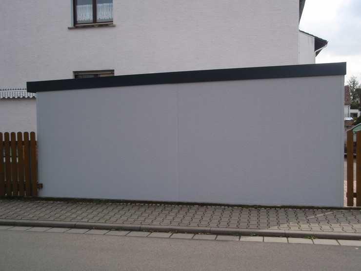 Garagenrampe.de und Illusionsmalerei