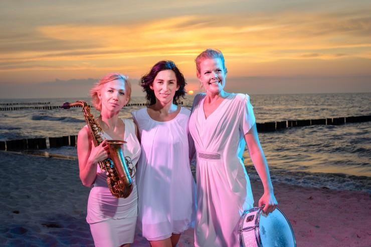 Erleben Sie den Zauber der Ladies Live Band Pearls of Berlin- live im Jazz Radio