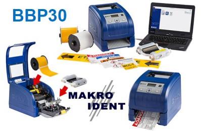 Brady BBP30 Schilderdrucker für die Sicherheits- und Gebäudekennzeichnung