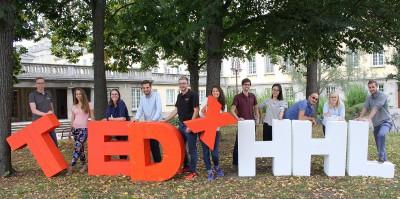 Weltstar Graham Candy bei TEDxHHL am 14. Oktober 2016 im WERK 2 Leipzig