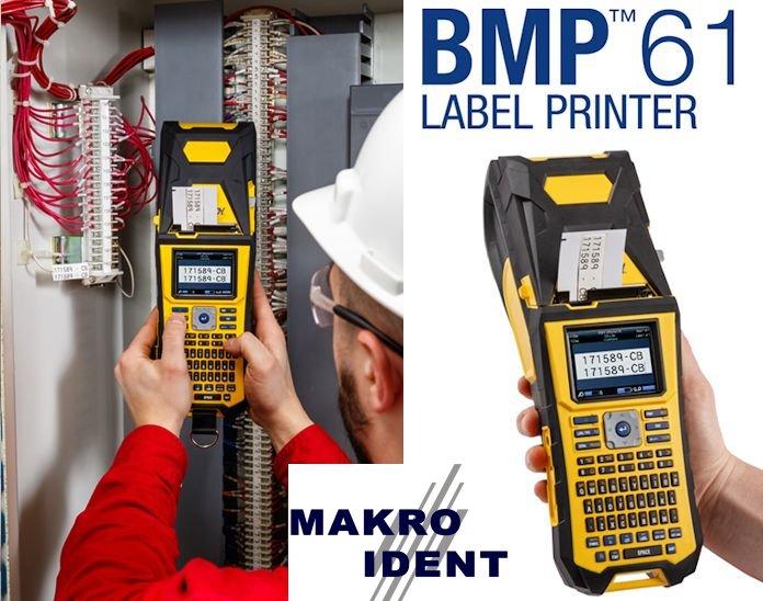 Brady BMP61: Neuer tragbarer Hochleistungs-Etikettendrucker