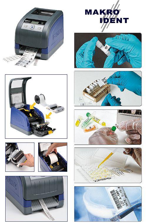 Brady BBP33 Etikettendrucker für den Laboreinsatz