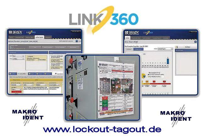 LINK360 Sicherheitssoftware für Lockout-Tagout Programme
