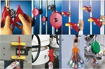 Lockout-Tagout Verriegelungssysteme für sicheres Arbeiten