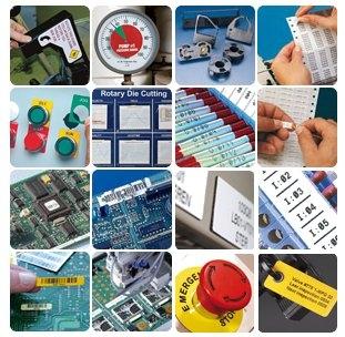 Etiketten für die Industrie und im Labor