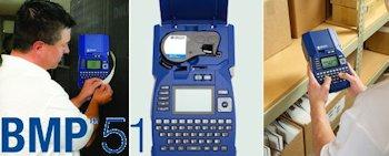 Brady BMP51: Mobiler Etikettendrucker für Labor und Industrie