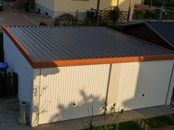 Kein stehendes Wasser auf Exklusiv-Garagen
