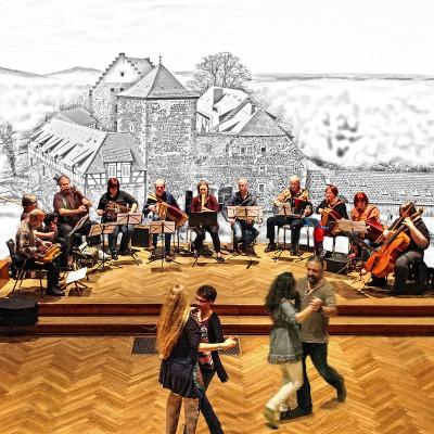 Workshops für Folk- und Bordun-Musik zum Jahresbeginn 2017 - die 17. Fürstenecker Bordunale