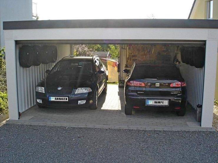 Garagenrampe.de und historische Häuser