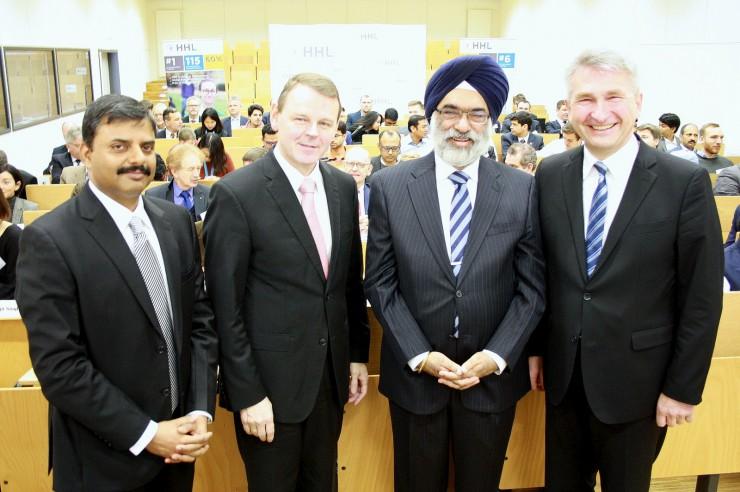 In Vertrauen investieren: Deutsch-indische Wirtschaftsbeziehungen im Fokus der HHL