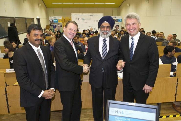 Investing in Trust: Focus on German-Indian Economic Relations at HHL Leipzig Graduate School of Management