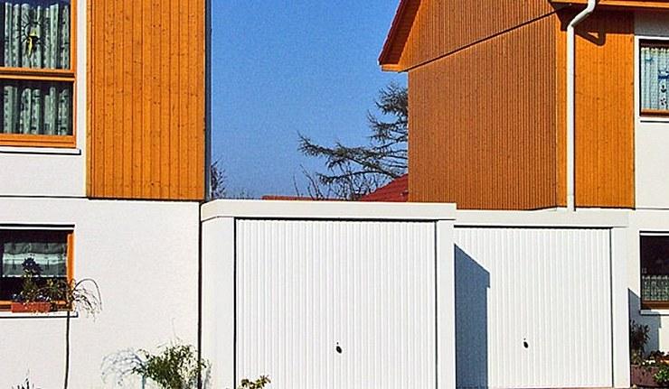 Exklusiv-Garagen am Haus statt in Garagenhöfen