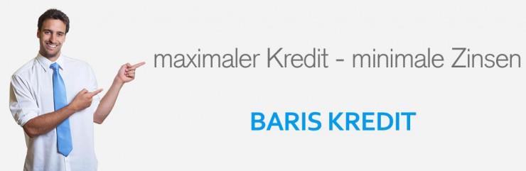 Baris Kredit: Kreditsuche vom Profi