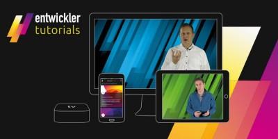 entwickler.de geht mit neuer Videotutorial-App an den Start