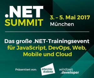 .NET Summit 2017 in München