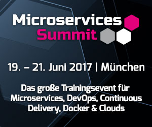 Microservices Summit 2017 in München