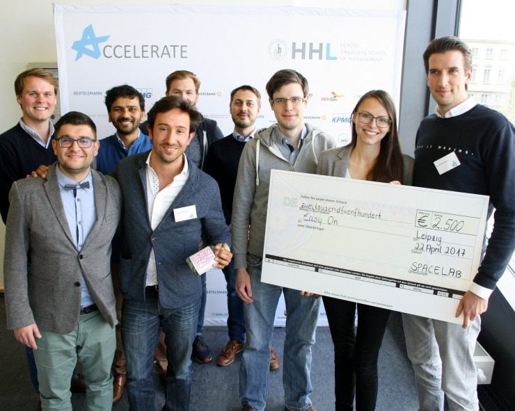 easyOn gewinnt internationalen Startup-Wettbewerb auf Ostdeutschlands größter Gründerkonferenz