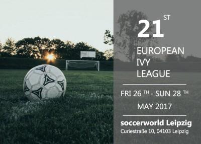 XXI. European Ivy League: Fußballturnier und Karrieremesse vom 26.-28. Mai 2017 an der HHL