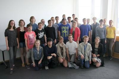HHL-MPI-Leibniz-Mathe-Olympiade 2017: Mathematische Teamarbeit im Sinne des Universalgelehrten