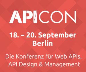 Die neue API Conference 2017 startet im September in Berlin