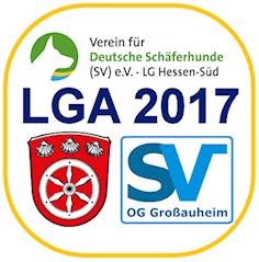 Landesgruppenausscheidungsprüfung (LGA) der SV-LG Hessen-Süd am 19./20.8.2017 in Hanau-Großauheim