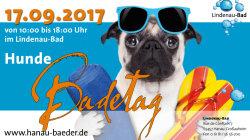 3. Hanauer Hundebadetag am 17.9.2017 im Lindenaubad Hanau-Großauheim