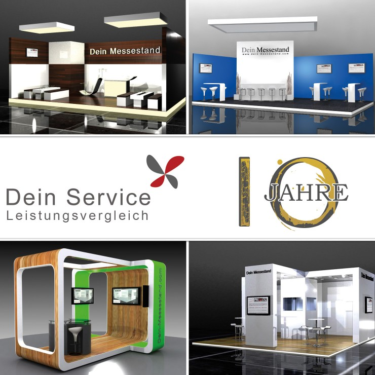 Messebau, Ladenbau und Messepersonal  10 Jahre Dein Service GmbH