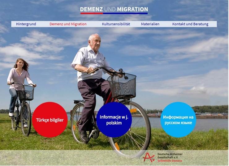 Zum Welt-Alzheimertag 2017:  Neue Webseite zu Demenz und Migration der Deutschen Alzheimer Gesellschaft online