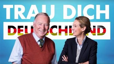 Doppelspitze als Fraktionsvorsitzende der AfD-Bundestagsfraktion gewählt