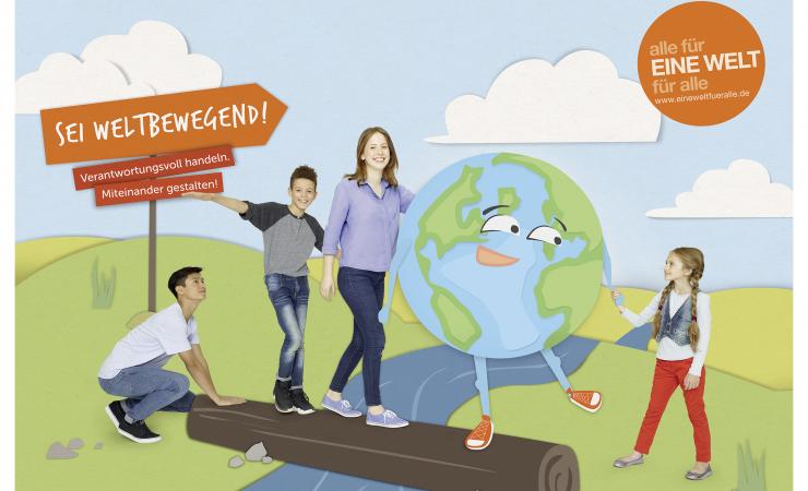 Unter Schirmherrschaft des Bundespräsidenten: Schulwettbewerb zur Entwicklungspolitik gestartet