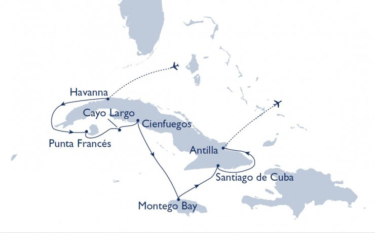 Schmetterling bringt kreuzfahrtaffine Reisebüros nach Kuba