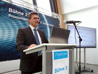 bpi solutions bot auf dem IT&MEDIA FUTUREcongress Einblicke in das digitale Büro 4.0