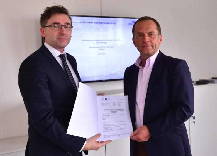 Systemanlagenbauer Weckenmann expandiert in Sachsen-Anhalt