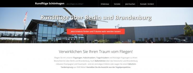 Stadtrundfahrt ist out - Rundflug in Berlin ist Trend