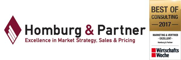 Best of Consulting 2017: Homburg & Partner wiederholt von der WirtschaftsWoche ausgezeichnet