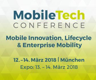 Das Programm der MobileTech Conference 2018 ist jetzt online