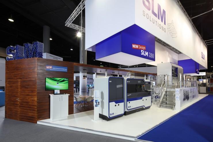 Rückblick formnext 2017: SLM Solutions überzeugt mit Innovationen und Geschäftsabschlüssen