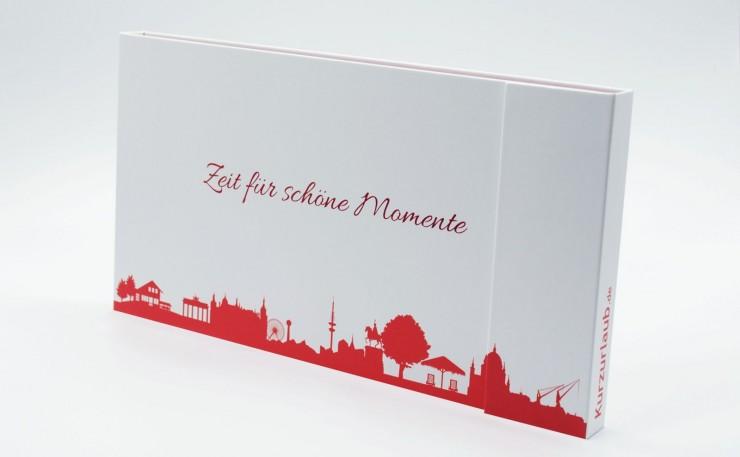 Vor Weihnachten: Neue Geschenkboxen für Kurzurlauber