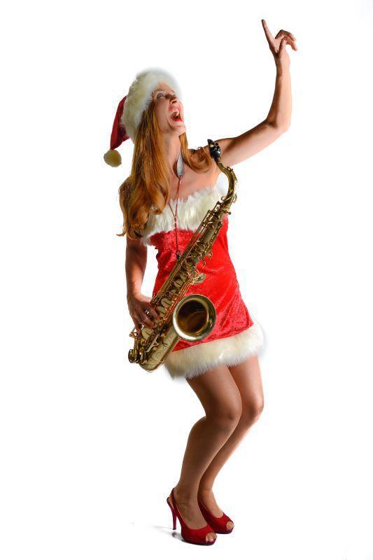 Stilvolle Saxophon-Klänge zu weihnachtlichen Events