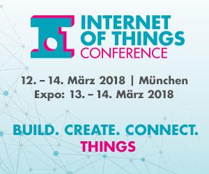 IoT Conference 2018: Ein breites Programm rund um das Trend-Thema Internet of Things!