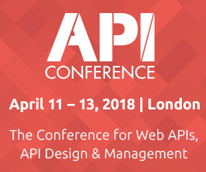 API Con goes London - Die Konferenz für Web APIs, API Design & Management