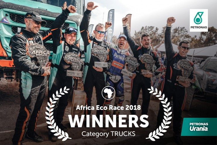 PETRONAS triumphiert beim Africa Eco Race 2018
