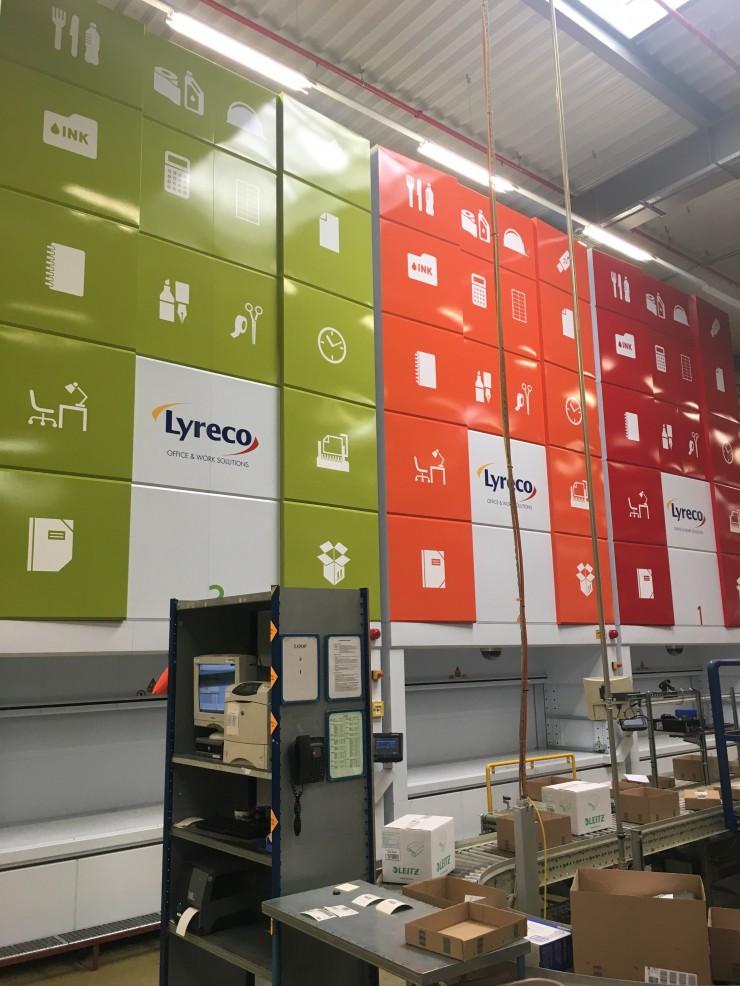 Lyreco investiert in Lagerkapazität