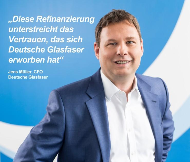Deutsche Glasfaser setzt sich an die Spitze mit FTTH