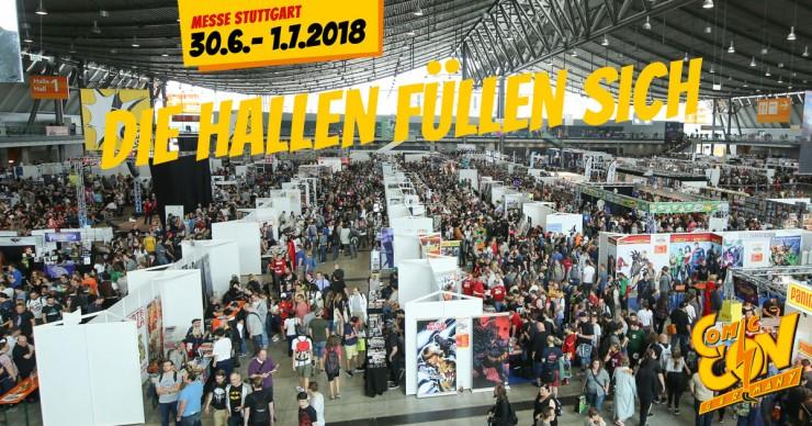 CCON Germany Stuttgart: Die Hallen füllen sich